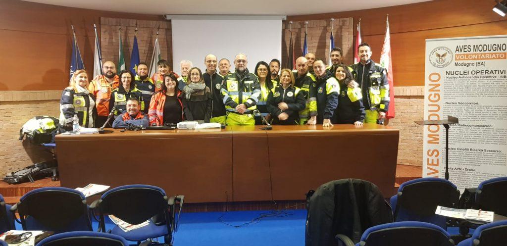 Corso Psicologia dell'Emergenza - Modugno 17/03/2019